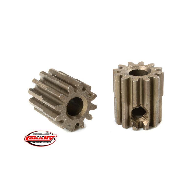 Ocelový tvrzený pastorek 12 zubů (modul 0,6) - 1
