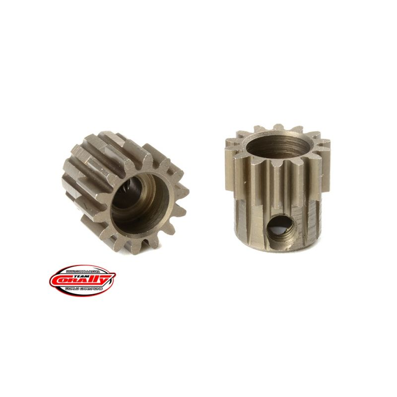 Ocelový tvrzený pastorek 14 zubů (modul 0,6) - 1
