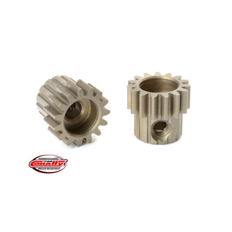 Ocelový tvrzený pastorek 15 zubů (modul 0,6) - 1