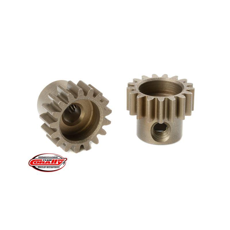 Ocelový tvrzený pastorek 17 zubů (modul 0,6) - 1