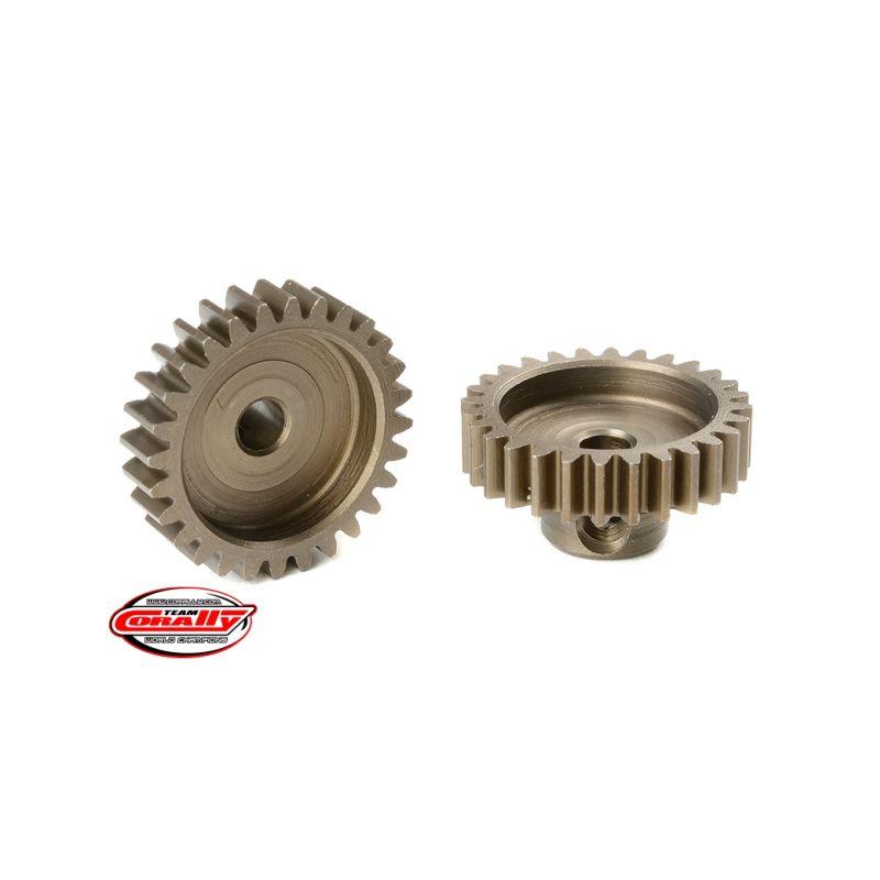 Ocelový tvrzený pastorek 28 zubů (modul 0,6) - 1