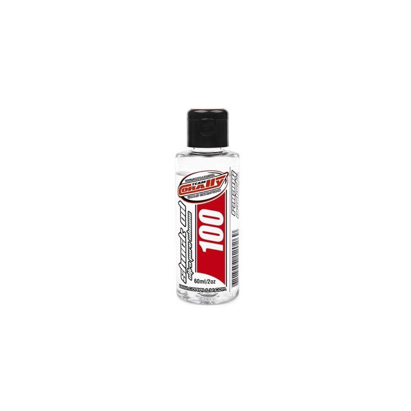 TEAM CORALLY - silikonový olej do tlumičů 100 CPS (60ml/2oz) - 1
