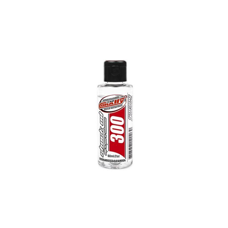TEAM CORALLY - silikonový olej do tlumičů 300 CPS (60ml/2oz) - 1
