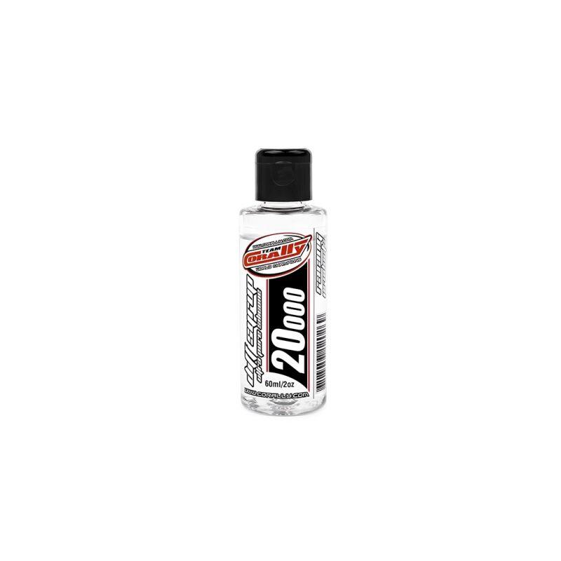 TEAM CORALLY - silikonový olej do diferenciálů 20.000 CPS (60ml/2oz) - 1