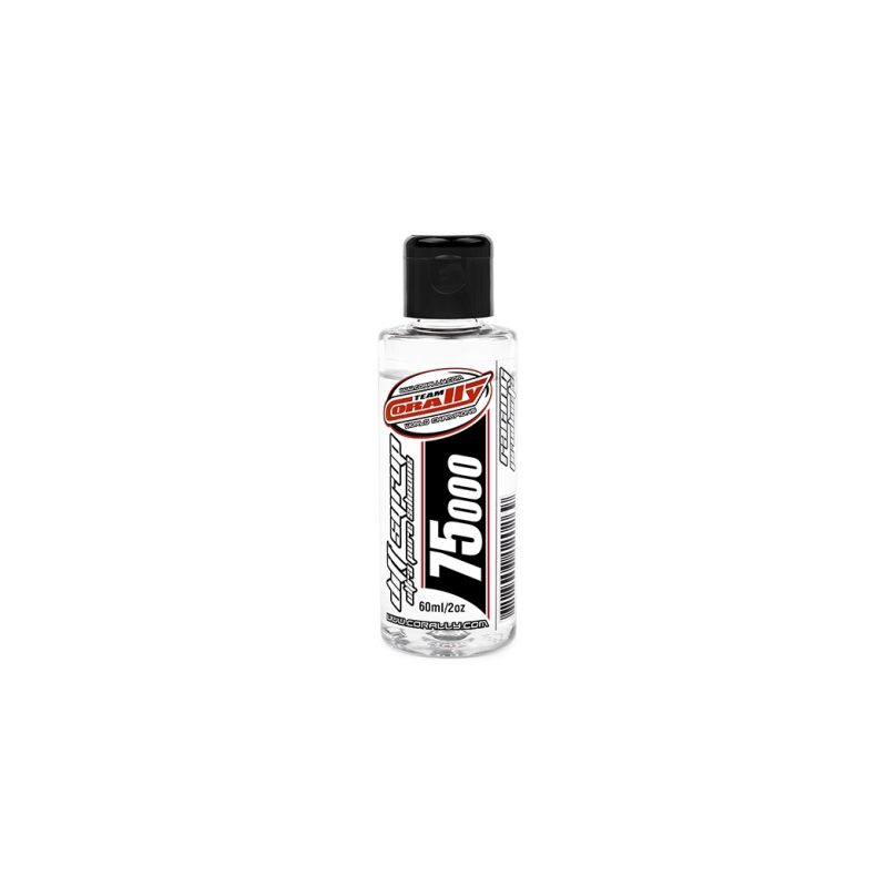TEAM CORALLY - silikonový olej do diferenciálů 75.000 CPS (60ml/2oz) - 1