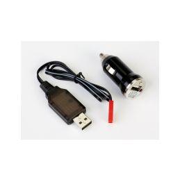 USB nabíječ & amp; USB DC power adaptér - 1