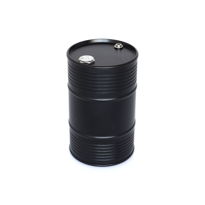 Hliníkový olejový barel, černý - 1