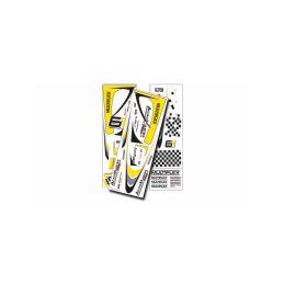 1-01012 polepy Acromaster Pro žluto-stříbrné - 1