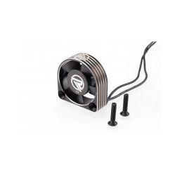 RUDDOG hliníkový větráček 30mm s černým kabelem - 1
