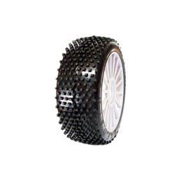 1/8 PREDATOR SPORT gumy nalepené gumy, bílé disky, 2ks. - 1