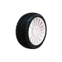 1/8 KILLER SPORT gumy nalepené gumy, bílé disky, 2ks. - 1
