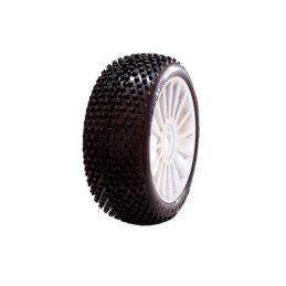 1/8 DEMOLITION SPORT gumy nalepené gumy, bílé disky, 2ks. - 1