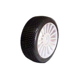 1/8 RICKY SPORT gumy nalepené gumy, bílé disky, 2ks. - 1