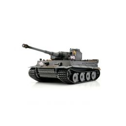 TORRO tank PRO 1/16 RC Tiger I Early Vers. šedý - infra - 1