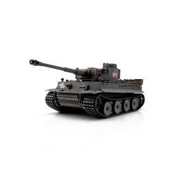 TORRO tank 1/16 RC Tiger I Early Vers. šedý - infra - 1