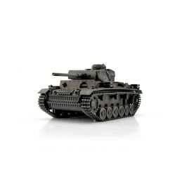 TORRO tank PRO 1/16 RC PzKpfw III Ausf. L šedý - infra - 1