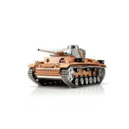 TORRO tank PRO 1/16 RC Panzer III bez nástřiku - infra - 1
