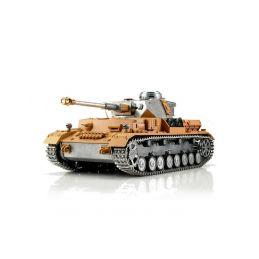 TORRO tank PRO 1/16 RC Panzer IV bez nástřiku - infra - 1