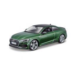 Bburago Audi RS 5 Coupe 1:24 zelená metalíza - 1