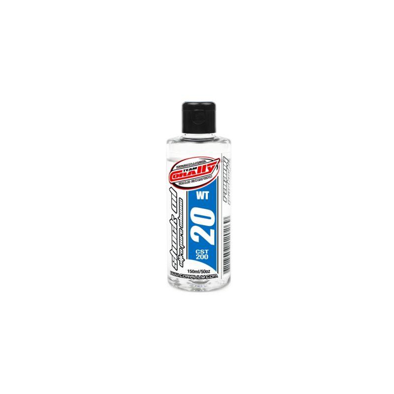 TEAM CORALLY - silikonový olej do tlumičů 20 WT (150ml) - 1