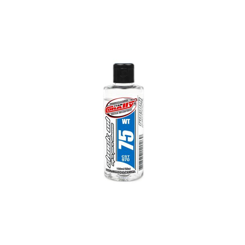 TEAM CORALLY - silikonový olej do tlumičů 75 WT (150ml) - 1