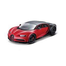 Bburago Plus Bugatti Chiron Sport 1:18 červená - 1