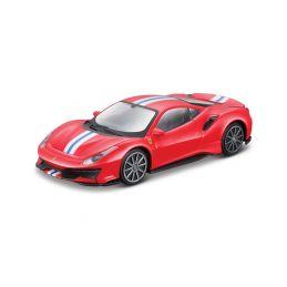 Bburago Ferrari 488 Pista 1:43 červená - 1