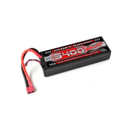 Sport Racing 50C - 5400mAh-7,4V-LiPo Stick Hardcase-T-DYN - 1