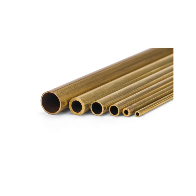 Mosazná trubička tvrdá 2.0x1.4x1000mm - 1