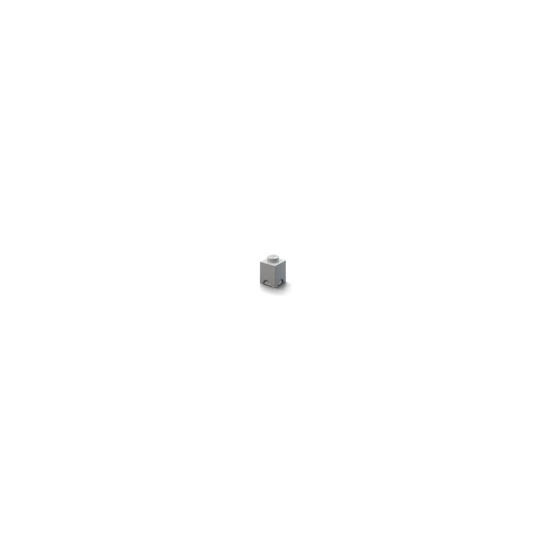 LEGO úložný box 125x125x180mm - šedý - 1