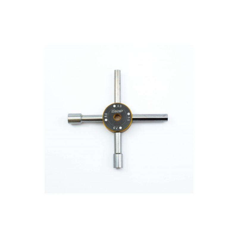 Universální nástrčkový klíč 4 v 1 (4,0 ; 5,5 ; 7,0 ; 8,0mm) - 1
