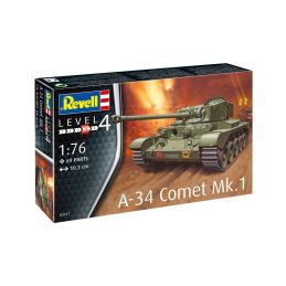 Revell Comet A-34 Mk.1 (1:76) - 1