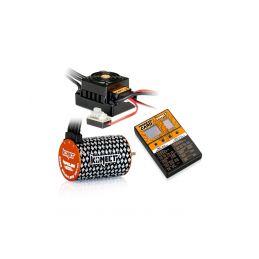 COMBO BRUSHLESS 50Amp WP s 4P 3652SL 4600Kv motorem + programovací karta - 1