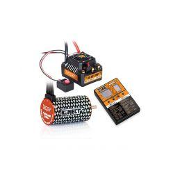 COMBO BRUSHLESS 80Amp SCT WP s 4P 3660SL 3150Kv motorem + programovací karta - 1