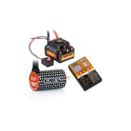 COMBO BRUSHLESS 80Amp SCT WP s 4P 3660SL 3700Kv motorem + programovací karta - 1