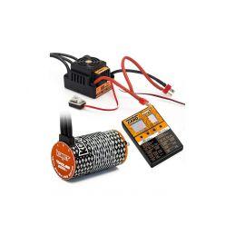COMBO BRUSHLESS 100Amp WP s 4P 4274SL 2000Kv motorem + programovací karta - 1