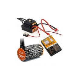 COMBO BRUSHLESS 100Amp WP s 4P 4274SL 2200Kv motorem + programovací karta - 1