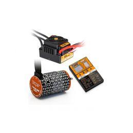 COMBO BRUSHLESS 150Amp WP s 4P 4268SL 1900Kv motorem + programovací karta - 1