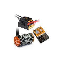 COMBO BRUSHLESS 150Amp WP s 4P 4274SL 2000Kv motorem + programovací karta - 1