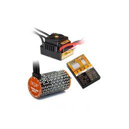 COMBO BRUSHLESS 150Amp WP s 4P 4274SL 2200Kv motorem + programovací karta - 1