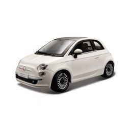Bburago Fiat 500 2007 1:24 bílá - 1