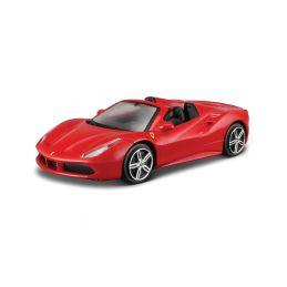 Bburago Ferrari 488 Spider 1:43 červená - 1