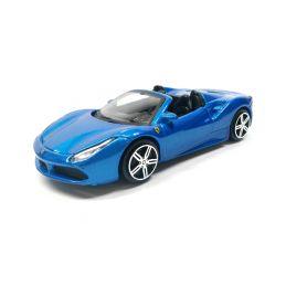 Bburago Ferrari 488 Spider 1:43 modrá - 1