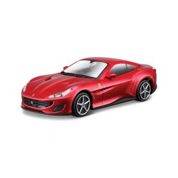 Bburago Ferrari Portofino 1:43 červená - 1