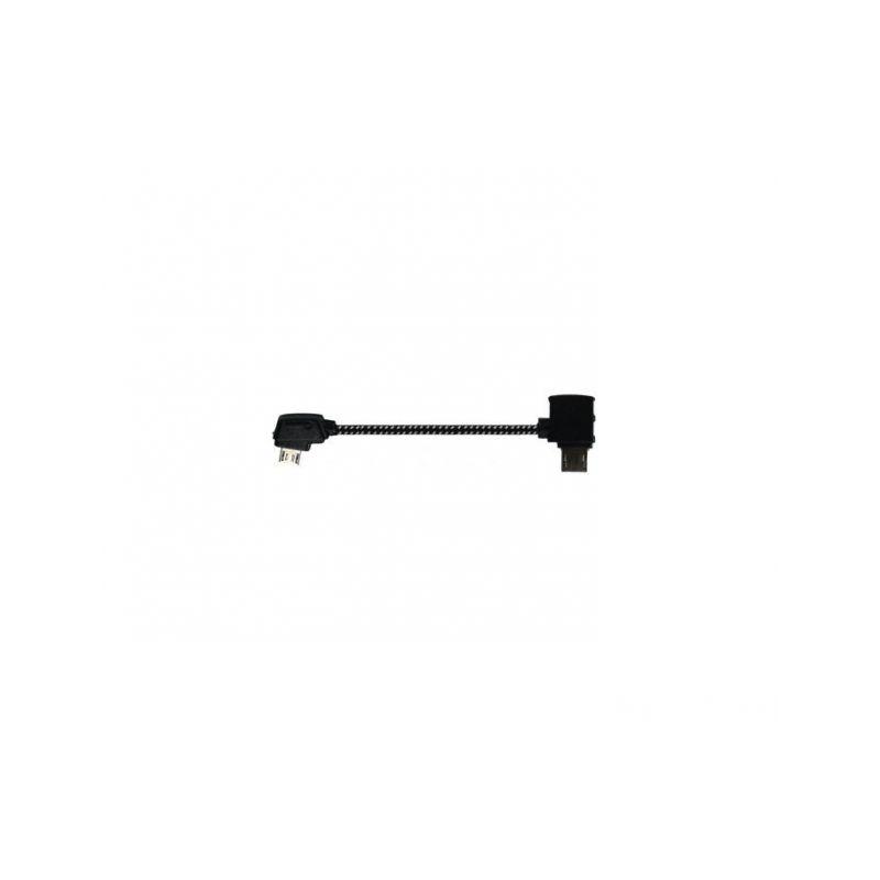 Nylonový Kabel k dálkovému ovládání Micro USB (Mavic) - 1