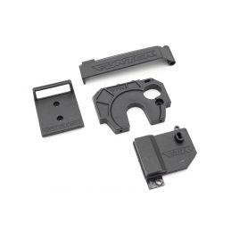 STX - držák přijímače/regulace jednotky + ochrana baterky + držák motoru - 1