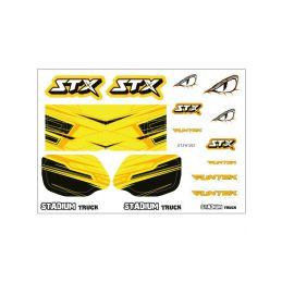 STX - nálepky - 1