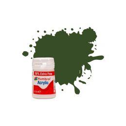 Humbrol akrylová barva #242 RLM71 tmavě zelená matná 18ml - 1