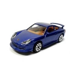 Bburago Porsche 911 Carrera 4 1:43 modrá - 1