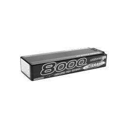 HV Stock Spec GRAPHENE-3 8000mAh Hardcase Akku - 7.6V LiPo - 130C/65C - 1